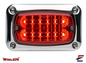 Whelen M6 to 600 Series Chrome Flange Adapter